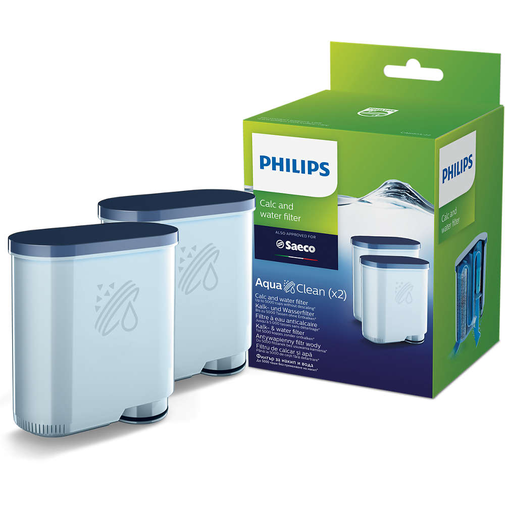 Philips Saeco AquaClean Waterfilter - 2 stuks